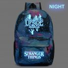 NEW Stranger Things backpack teenagers Student School Bags travel Shoulder B