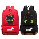 NEW How to train your dragon Backpack Shoulder travel School Bag Bookbag for