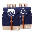 NEW   Harry Potter backpack Canvas bag  SchoolBag travel Shoulder Bag Rucksac