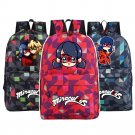 NEW Miraculous Ladybug  Backpack School Bags camouflage Bag Fashion Students