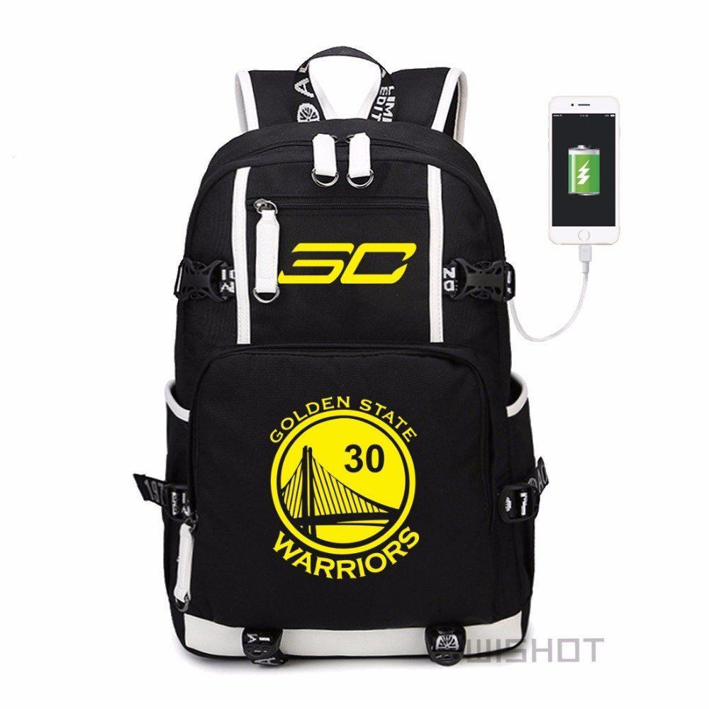 "NEW  Curry  backpack teenagers Men women""""s Student School Bags travel Shoulde"