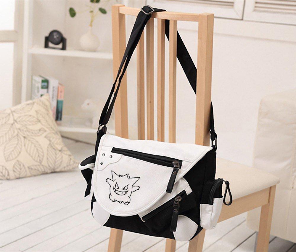 "NEW  Anime cute Gengar Shoulder Bag Messenger Bag  teenagers Men women""""s Stud"
