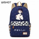 NEW Canvas bag Flower fashion Rucksacks backpack women Schoolbag travel Shoul