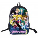 Anime Sailor Moon Backpack SailorMoon Crystal Backpack For Teenagers Girls Child