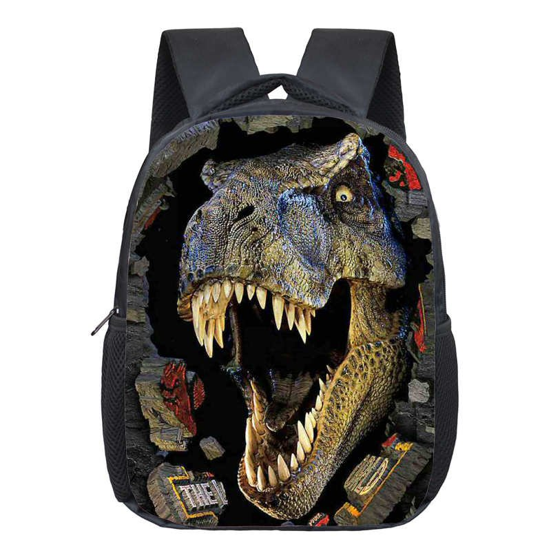 Dinosaur Magic Dragon Backpack for Kids Animals Children Schoolbags Boys Girls S