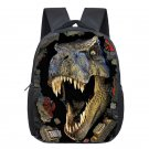 Dinosaur Magic Dragon Backpack for Kids Animals Children Schoolbags Boys Girls S