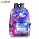 Galaxy Backpack For Teenager Girls Boy Universe Planet School Bag College Studen