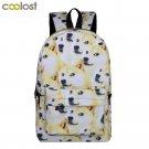 Cool Dog Shiba Inu Backpacks for Teenagers Girls Boys School Bags Young Women Me