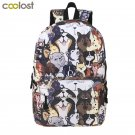 Cute Puppy Dog Backpack For Teenager Boys Girls Children School Bags Women Lapto