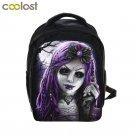 Punk Gothic Princess Girls Doll / Bear Backpack Children School Bags Kids Kinder