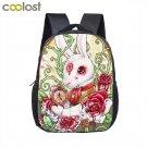12 Inch Cartoon Bear / Bunny Kids School Backpack Bag Child Backpacks for Girls