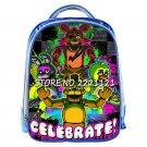 Anime Five Nights At Freddy Backpack Children FNAF School Backpack Bags Boys Fiv