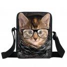 Graffiti Bull Terrier / Rottweiler Crossbody Bag for Women Handbags Cat / Bulldo
