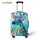 Painting Deer Luggage Cover Protective Suitcase Cover Trolley Case Travel Luggag