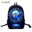 Game Of Throne Backpack for Teenagers Girls Boys School Bags Valar Morghulis Tod
