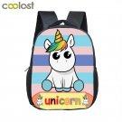 Little Unicorn Baby Backpack School Bags for Girls Boys Cartoon Animal Kindergar