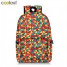 Fashion Patchwork Backpack Women Men Travel Bags Siberian Husky Laptop Mochila C
