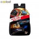 Racing Cars Toddler Backpack for Boys Girls School Bags Helicopter Style Men Tra