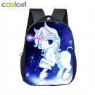 Unicorn School Bags for Girls Boys Cartoon Kindergarten Bag Baby Toddler Backpac