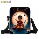 Happy Halloween Women Messenger Bag Pumpkin Crossbody Bag Bao Bao Trick or Treat