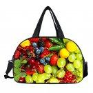 3D Fruit Print Travel Bag Women Handbags Foldable Travel Bag for Suit Portable D