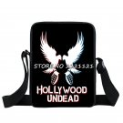 Hollywood Undead Bird Mini Messenger Bag Pigeon Graphic School Bags Teenage Mini