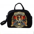 Rock N Roll Men Travel Bags Motorcycle Carry on Luggage Bag Women Duffle Totes W