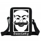 Mr Robot Fsociety Anonymous Mask Mini Messenger Bag V for Vendetta Crossbody Bag