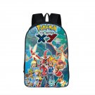 Anime Pokemon School Backpack Teenage Boys Girls Casual Daypacks Pikachu Arceus