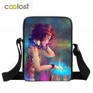 Cartoon DJ Women Messenger Bag Boys Girls Hot CD Player Mini Shoulder Bag Childr