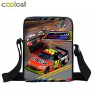 Small Hand Bag Woman Messenger Bags Daily Clutch Racing Car School Bags Male Bao