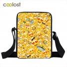 Kawaii Emoji Mini Messenger Bag Smiley Face Shoulder Bag Funny Crossbody Bags fo