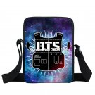 Korean KPOP BTS EXO GOT7 BAP Messenger Bag Girls Mini Crossbody Bag Women Handba