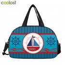 Large Men Women Travel Bags Compass Sea Boat Carry on Luggage Duffle Bags valise