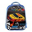 Cool Racing Car School Bags for Girls Boys Children Aircraft Rucksack Book Bag H