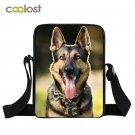 German Shepherd / Chihuahua / Husky Crossbody Bag for Men Women Handbags Rottwei