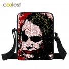 Joker Crossbody Bag for Men Travel Bags Skull Children School Bags Clown Women H