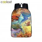 Fantasy Dream Child of Universe Girls Backpack for Teenagers 3D Tales Children S