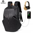 2018 New Anti-thief USB Recharging Men Backpack Fashion Casual Laptop Backpack C