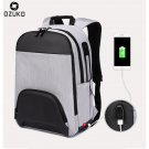 New USB Charge Fashion Men Backpack Large Capacity Laptop Backpack Casual School
