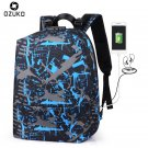 NEW New Anti-theft Backpack Men USB Charging Multifunction School Backpack Bag