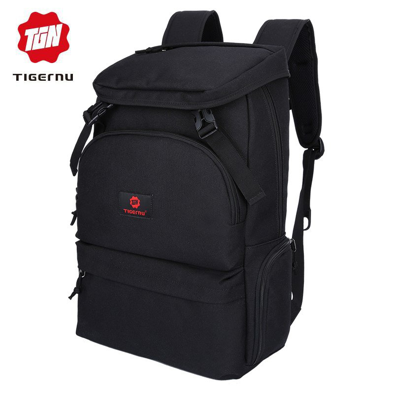 NEW fashion men preppy style backpack for youth flap pocket large capacity d
