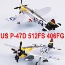 Easy Model 1/72 USAF P-47D Thunderbolt 512FS 406FG #37287