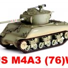 Easy Model 1/72 M4A3 (76)w Sherman Middle Tank 4th Tank Bat. 1st Div. #36262