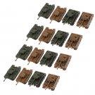 MagiDeal 1/144 tedesco VI Ausf. E Tiger Heavy Tank Model Toys for Collection