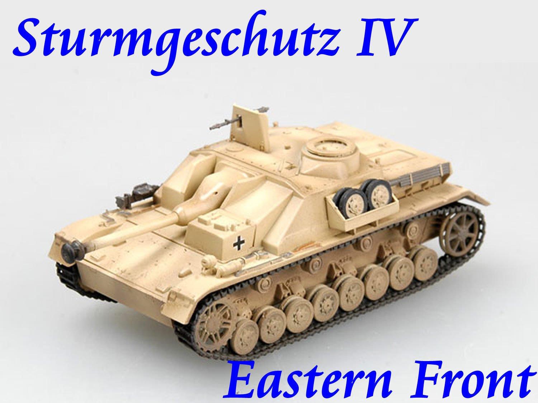 Easy Model 1/72 Germany Sturmgeschutz IV Eastern Front 1944 Tank Model #36131