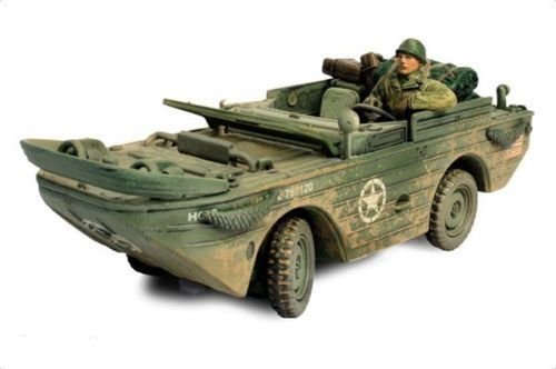 Forces of Valor Diecast WWII U.S. Amphibious GP Vehicle JEEP Normandy 1944 1/32