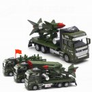 Set of 3 Missile Rocket Truck Military Truck 1:48 Alloy Diecast Vehicle Model
