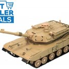 USA Army American M1 Abrams Tank Diecast Model Kids 360 Degree Rotate Military