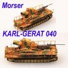 Easy Model 1/144 Morser KARL-Gerat 040 Plastic #34900